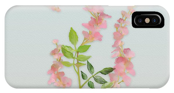 Pink Tiny Flowers IPhone Case