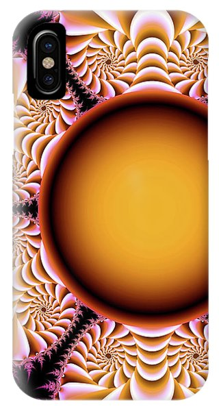 The Mad Hatter Spiral Staircases Fractal Swirls IPhone Case
