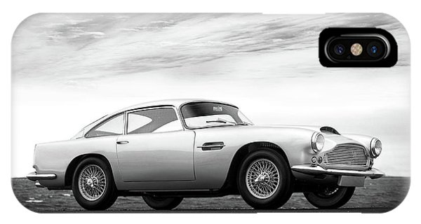 Martin iPhone Case - The Aston Db4 1959 by Mark Rogan