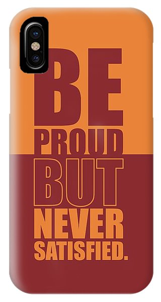 Workout iPhone Case -  Getting Stronger Each Day Gym Quotes Poster by Lab No 4