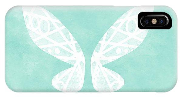 Fairy iPhone Case - Fairy Wings- Art By Linda Woods by Linda Woods