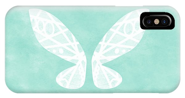 Fairy iPhone Case - Fairy Wings- Art By Linda Woods by Linda Woods