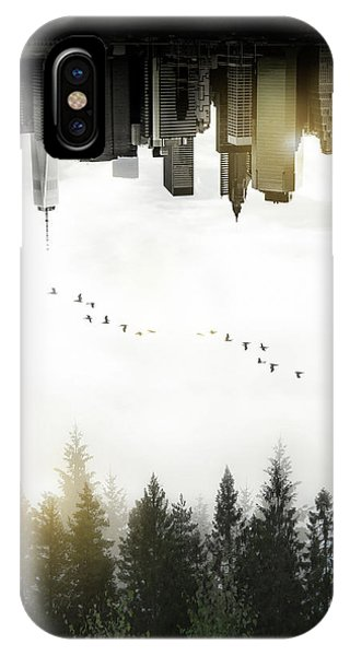 Double iPhone Case - Duality by Nicklas Gustafsson