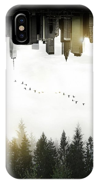 Exposure iPhone Case - Duality by Nicklas Gustafsson