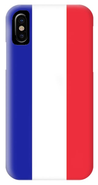 Flag Of France High Quality Authentic Image IPhone Case
