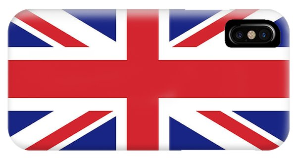 Union Jack Ensign Flag 1x2 Scale IPhone Case