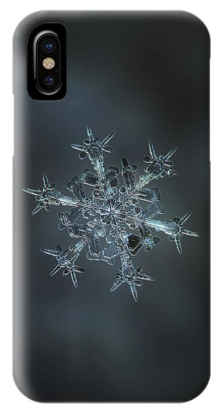 Snowflake Photo - Starlight II IPhone Case