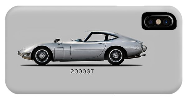 The Toyota 2000gt IPhone Case