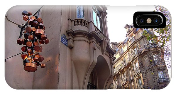 Angles And Details At Place Saint Andre Des Arts IPhone Case