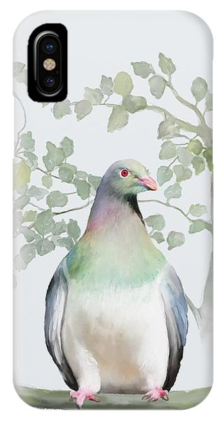 Wood Pigeon IPhone Case
