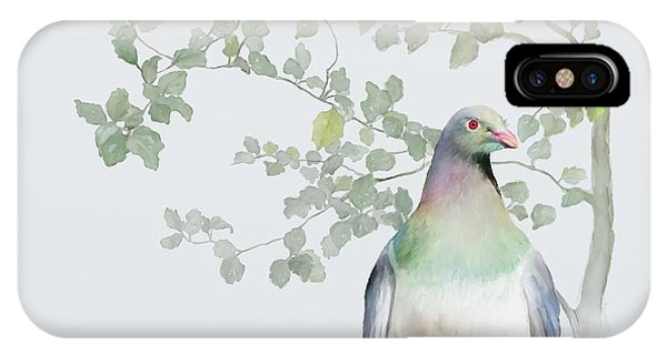 Wood Pigeon IPhone Case