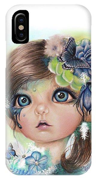 Indigo - Butterfly Keeper - Munchkinz By Sheena Pike  IPhone Case