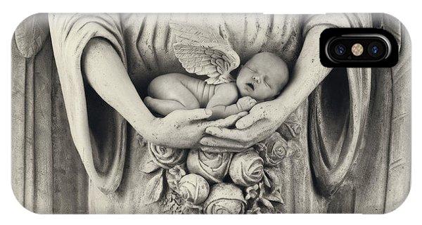 Angels iPhone Case - Stone Angel by Anne Geddes