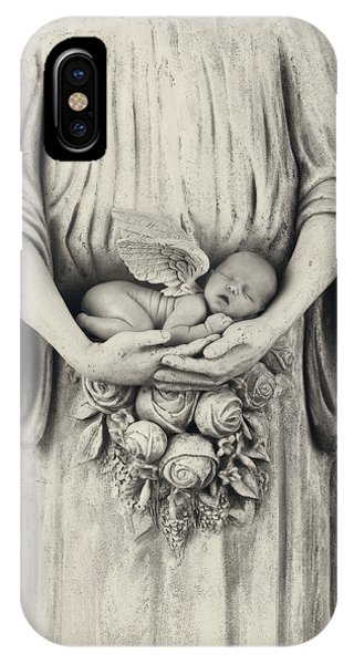 Babies iPhone Case - Stone Angel by Anne Geddes