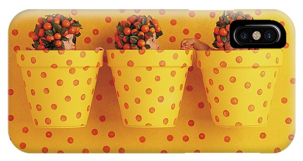 Fruit iPhone Case - Spotted Pots by Anne Geddes