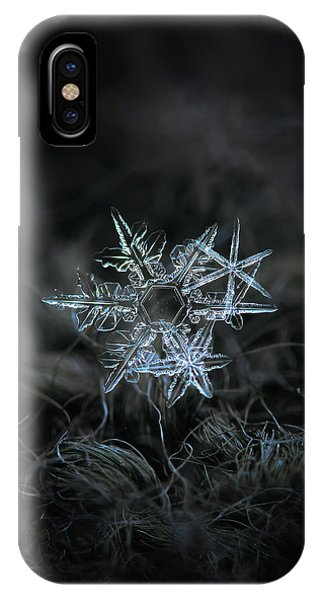 Snowflake Of 19 March 2013 IPhone Case