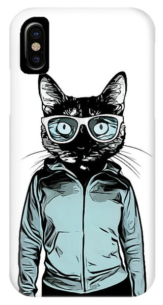 iPhone Case - Cool Cat by Nicklas Gustafsson