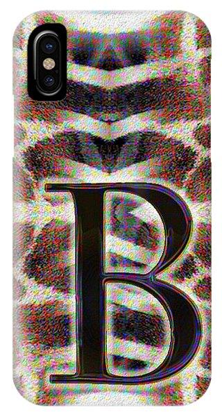 Monogram B IPhone Case