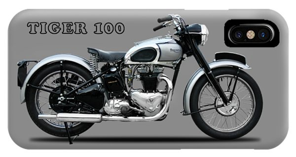 100 iPhone Case - The Tiger 100 1949 by Mark Rogan