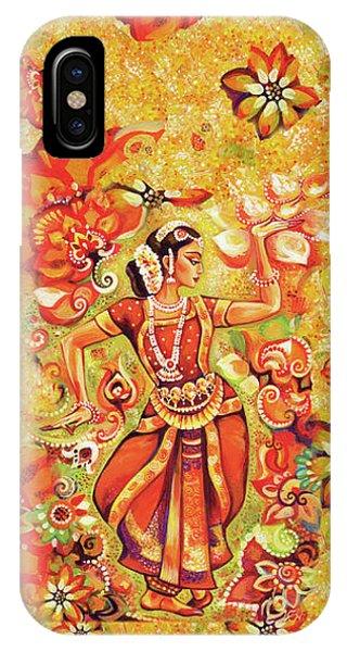Ganges Flower IPhone Case