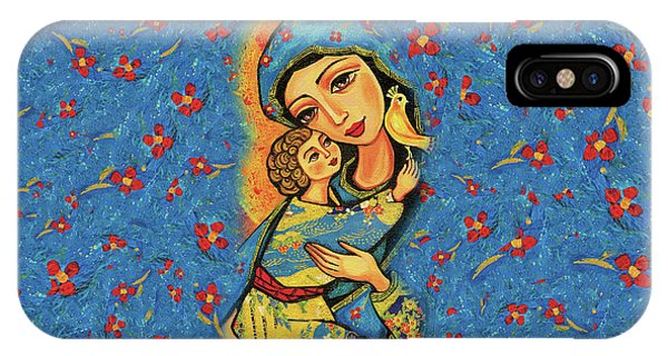 Mother Temple IPhone Case