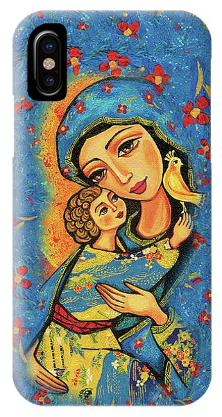 IPhone Case featuring the painting Mother Temple by Eva Campbell