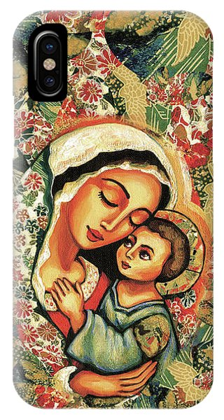 The Blessed Mother IPhone Case