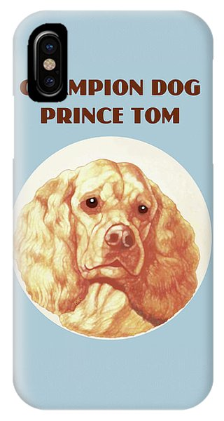 Champion Dog Prince Tom IPhone Case