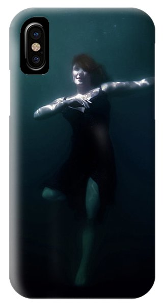 Dance iPhone Case - Dancing Under The Water by Nicklas Gustafsson