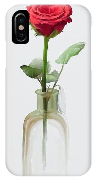 Smell The Rose IPhone Case