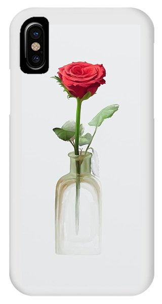IPhone Case featuring the painting Smell The Rose by Ivana Westin