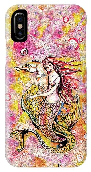 Black Sea Mermaid IPhone Case