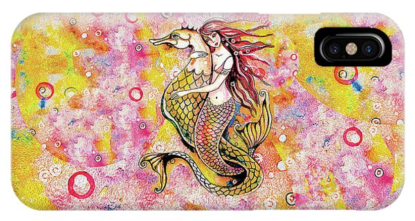 Black Sea Mermaid IPhone Case