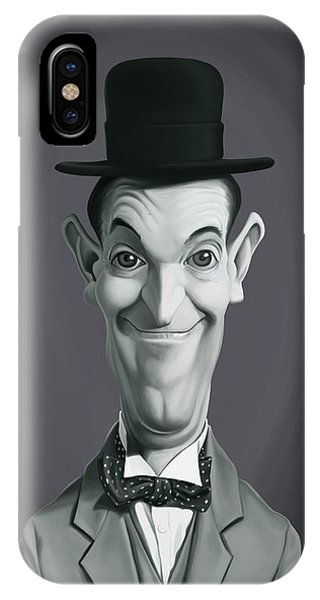 Celebrity Sunday - Stan Laurel IPhone Case