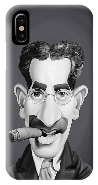 Celebrity Sunday - Groucho Marx IPhone Case