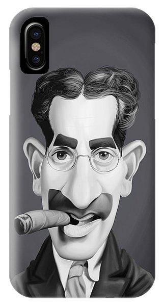 Celebrity Sunday - Groucho Marx IPhone Case