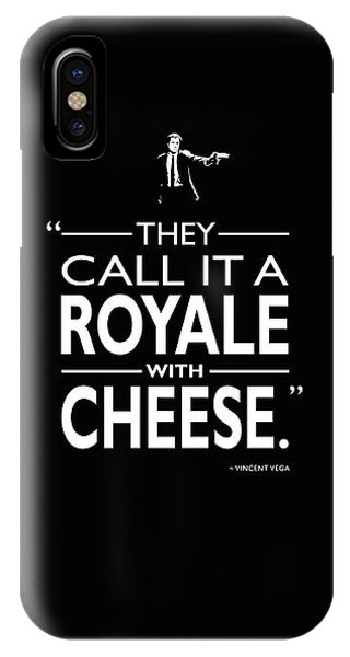 Again iPhone Case - A Royale With Cheese by Mark Rogan