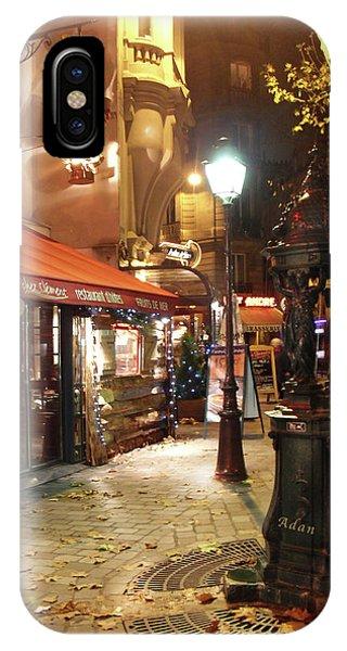 Place St Michel To Rue Saint-andre Des Arts IPhone Case