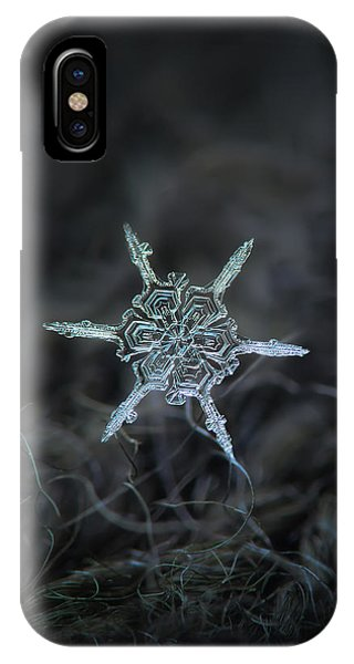 Real Snowflake Photo - The Shard IPhone Case
