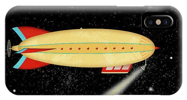 Z Is For Zeppelin IPhone Case
