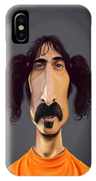 Celebrity Sunday - Frank Zappa IPhone Case