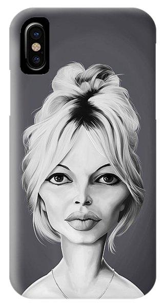 Celebrity Sunday - Brigitte Bardot IPhone Case