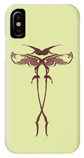 Zen Fly Specimen  IPhone Case