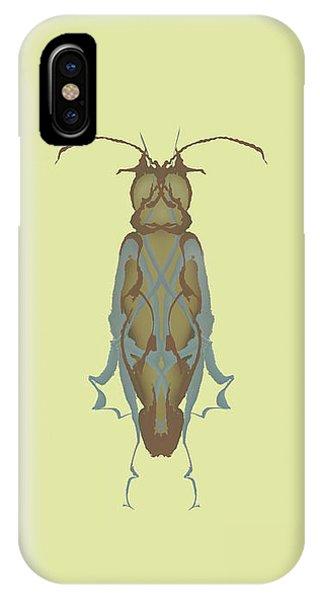 Cockroach Specimen IPhone Case