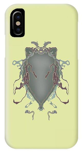 Fuzzy Eared Horsefly Specimen IPhone Case