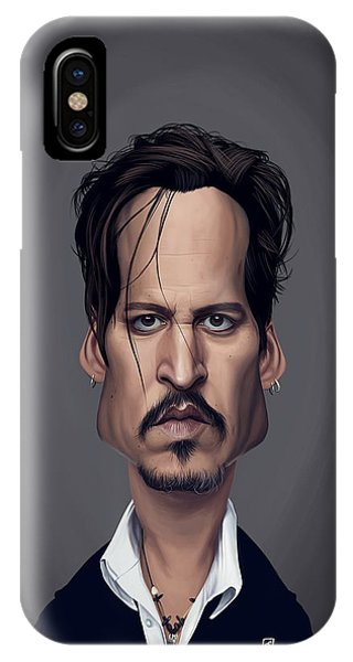 Celebrity Sunday - Johnny Depp IPhone Case