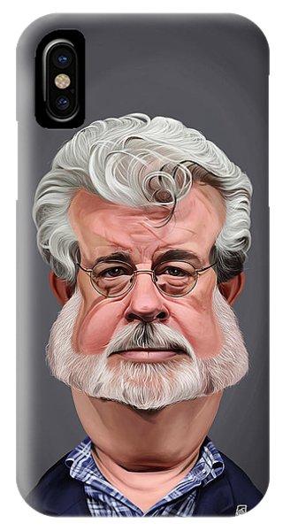 Celebrity Sunday - George Lucas IPhone Case