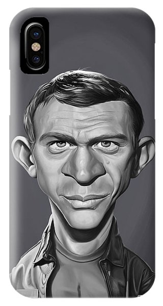 Celebrity Sunday - Steve Mcqueen IPhone Case