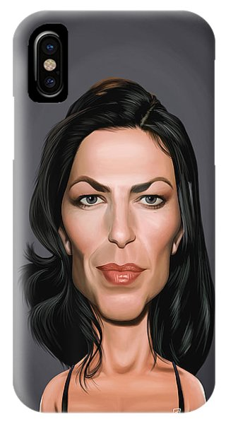 Celebrity Sunday - Claudia Black IPhone Case