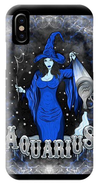 The Water Bearer Aquarius Spirit IPhone Case